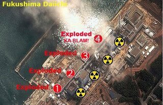 7 'spent fuel pools/pits', 6 reactors here and 6 reactors down the road  also in exclusion zone, 4 explosions, 3 confirmed meltdowns... and lots of lying and deceptions since March 11 2011. ASK MORE QUESTIONS...