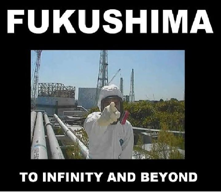 Fukushima to infinity and beyond