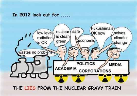 Include those complicit in the cover up with the charges against TEPCO?