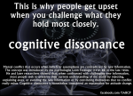 cognitive dissonance is
