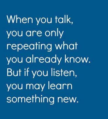communication talk and listen