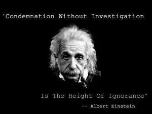 einstein ignorance