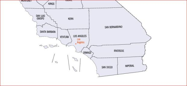 Capture CA Counties Nuked