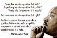 mlk is it right
