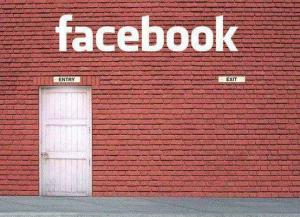 facebook brick wall entry