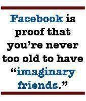 fun facebook imaginery friends