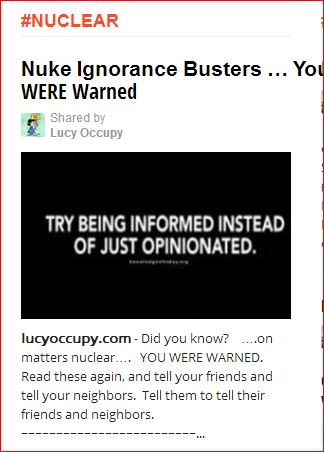Capture NUKE IGNORANCE BUSTERS 3 23 13