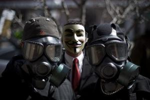 masks gas masks anon