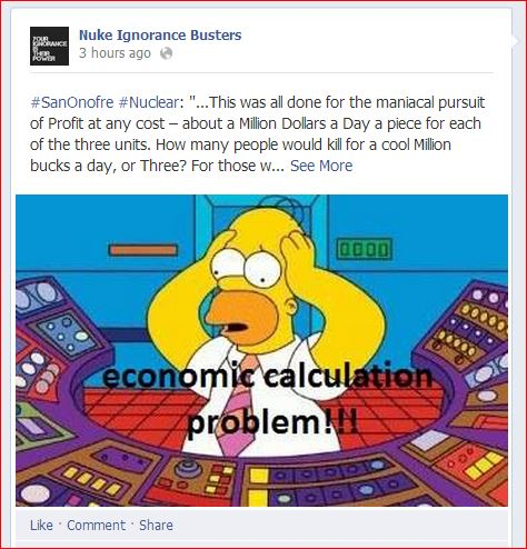 Capture economic calculation problem