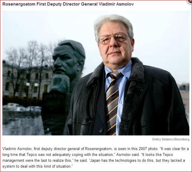 Fukushima Bloomberg Asmolov