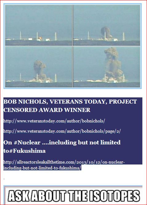 ask about the isotopes now  bob nichols veterans today project censored