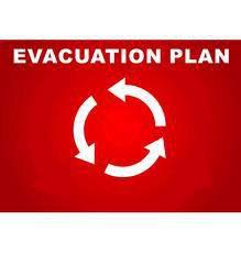 Nuclear Evacuation Plan  please post visibly