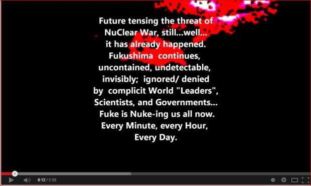 Fukushima future tensing