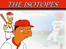 isotopes and homer