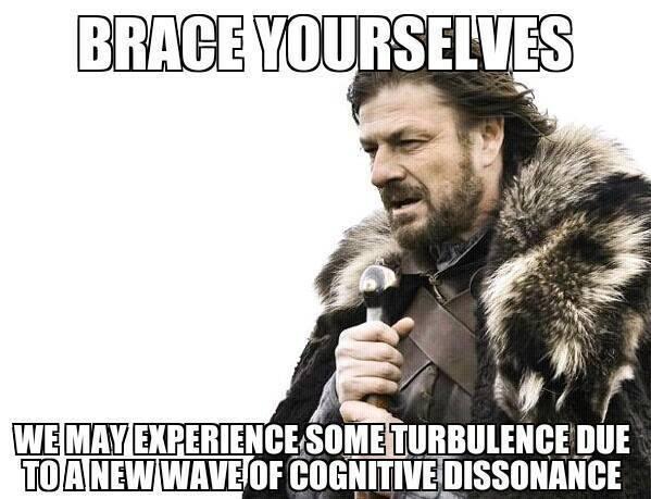 cognitive dissonance turbulence