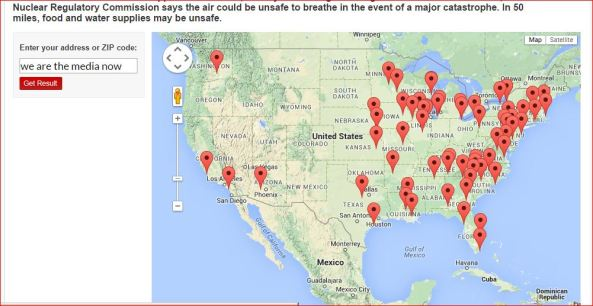 HOW CLOSE IS TOO CLOSE  STATIONARY NUCLEAR WEAPONS FACILITIES IN USA   some of them