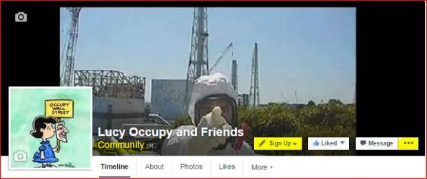 LUCY OCCUPY AND FRIENDS FB PAGE