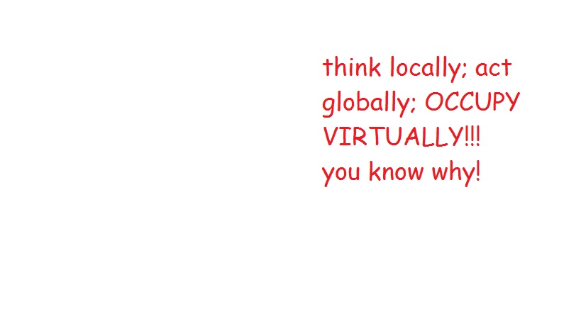 think locally