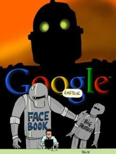 Google FB thought police