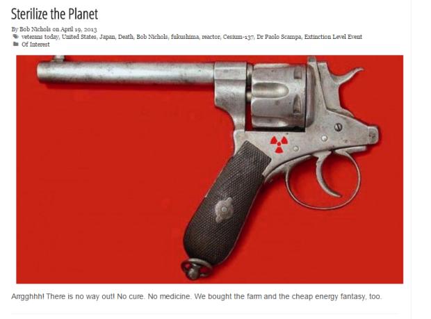 """Sterilize the Planet"" - READ ALL ABOUT IT - http://www.veteranstoday.com/2013/04/19/sterilize-the-planet/"
