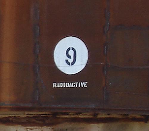 Tank No 9 RADIOACTIVE