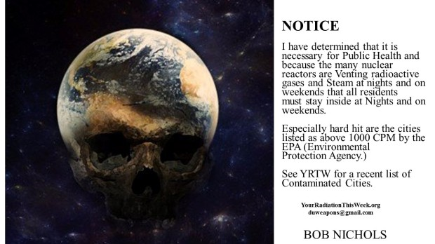 Your Radiation This Week - NOTICE